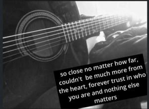 Metallica Quotes From Lyrics Quotes ii like