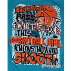 Basketball Quotes for Girls | Girlie Girl Originals - Basketball ...