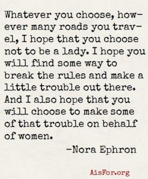 Rip Quotes Tumblr Rip nora ephron. a great quote