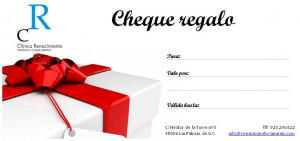 cheques regalos