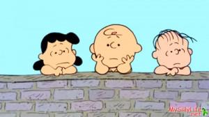 Charlie Brown's Depressed Stance