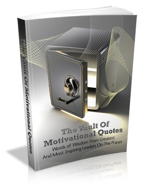 """The Vault Of Motivational Quotes"""""""