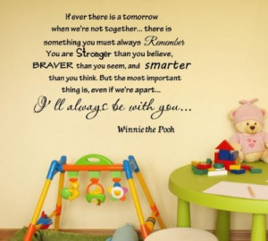 were-not-together-winnie-the-pooh-vinyl-wall-art-inspirational-quotes ...