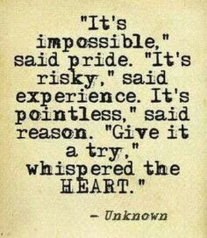 quotes about chances / leap of faith