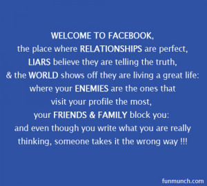 Facebook Quotes Graphic