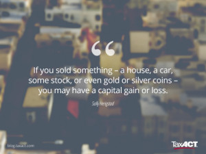 What's so special about capital gains?