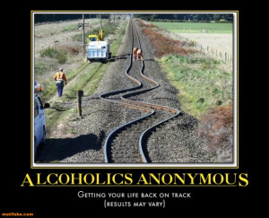 alcoholics anonymous train beer sweeden funny