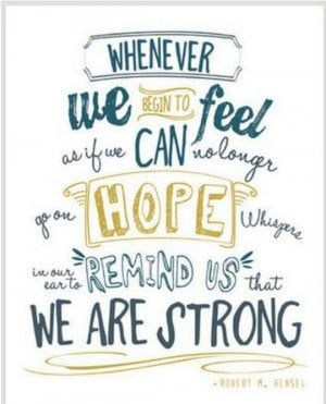 great quote! #hope #strength #cancer