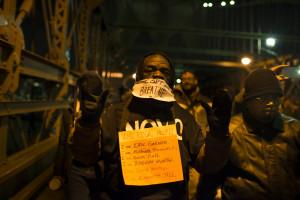 Black Lives Matter Protest, Millions March New York, December 13 2014