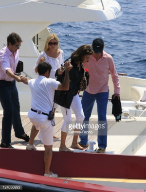 Prince Pavlos And Princess Marie Chantal From Greece Going To Eat On