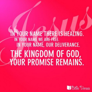 healing quotes with images | Jesus, InYour Name | Bible Verses, Bible ...
