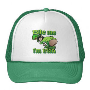 Funny St Patricks Day Sayings Hats