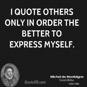 Montaigne and Augustine