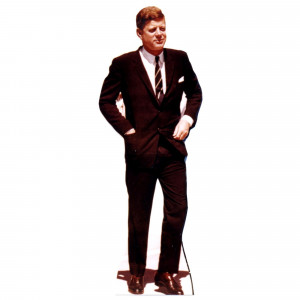 Advanced Graphics President John F. Kennedy Life-Size Cardboard Stand ...