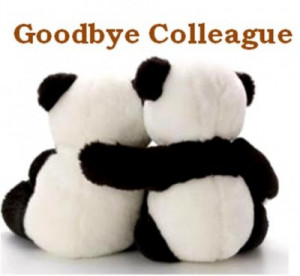 Fare Well Note to a Co-Worker Farewell Funny Quotes Goodbye Leaving.