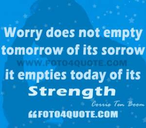 You are here: Home Life quotes Life coaching quotes – Do you worry ?