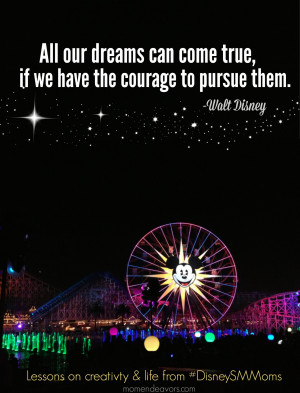Walt Disney Movie Quotes About Life Walt disney quote & lessons #