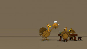 Funny Thanksgiving Desktop Backgrounds