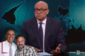Larry Wilmore shuts down media's