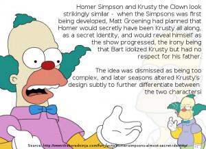 Homer is Krusty the Clown