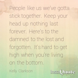 Kelly Clarkson People Like Us