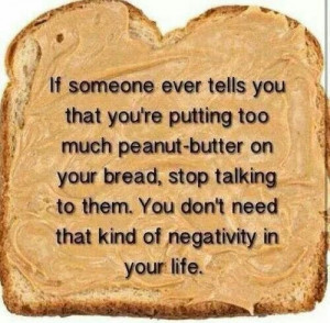 No time for negativity!