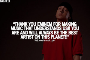 eminem, hqlines, life, love, quotes, sayings, thanks