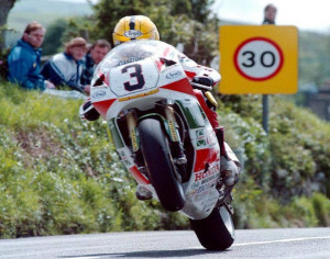 How about some Joey Dunlop?