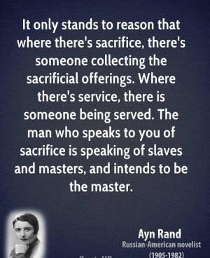 Related Post from AynRand Quotes