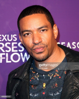 Laz Alonso arrives at 'Verses And Flow' Season 4 taping presented by ...