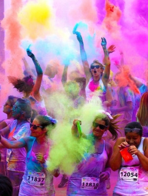 Color run>>>Im aiming for Oct