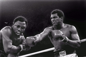 Muhammad Ali vs. Joe Frazier in Thrilla in Manila, Quezon City, Metro ...
