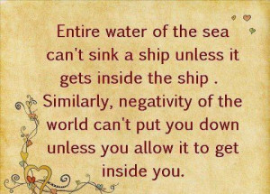 quote about negativity