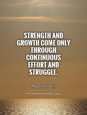 Quotes About Struggle And Strength