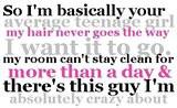 so i'm basically your average teenage girl Images