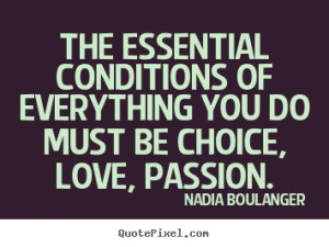 ... quote from nadia boulanger customize your own quote image