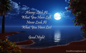 Beautiful Good Night Images with Quotes Free Download