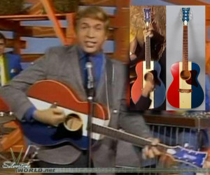 ... buck owens here s his signature guitar the silvertone buck owens model