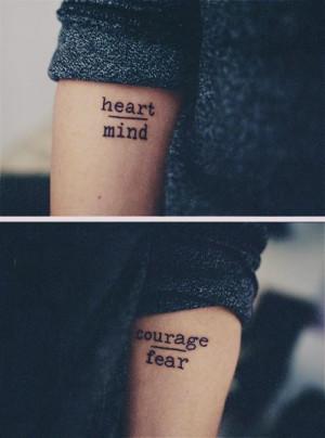 tattoo hipster tattoo quote tattoos tattoos tattoo designs tattoo ...