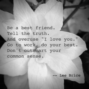 Lee brice quote