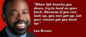 Les brown famous quotes 2