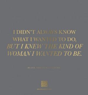 Diane Von Furstenberg quote || www.emilymccarthy.com