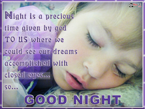 Good Night Picture Message and Quote Wallpaper With Good Night SMS.