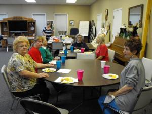 The Vicksburg Senior Center...