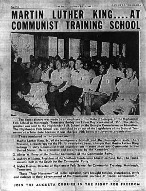 Martin Luther King Jr.....A Communist?!?!?!