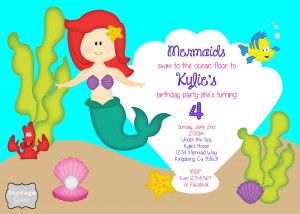 Storage Grace: Little Mermaid 4th Birthday Party
