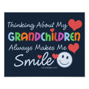 Love My Grandchildren Posters