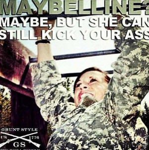 Female Soldier Referring...