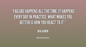 ... Mia Hamm at Lifehack Quotes More great Mia Hamm quotes at quotes
