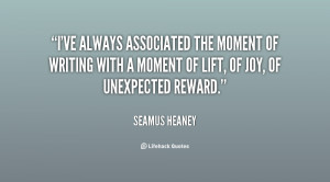 Seamus Heaney Quotes, Famous Seamus Heaney Quotes